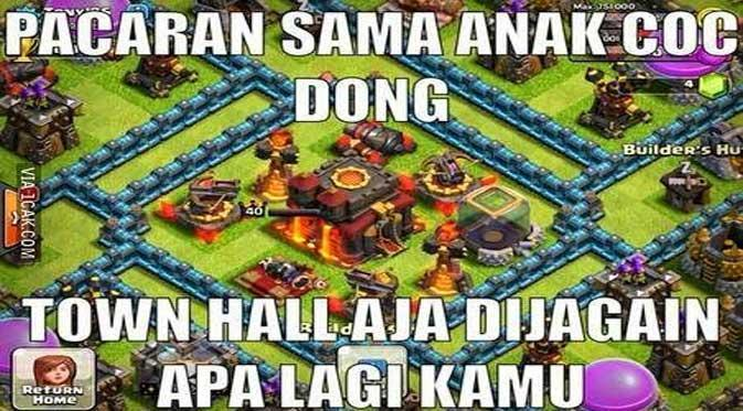 Meme COC Ngakak 14