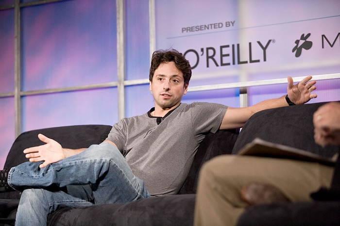Sergey Brin from Google