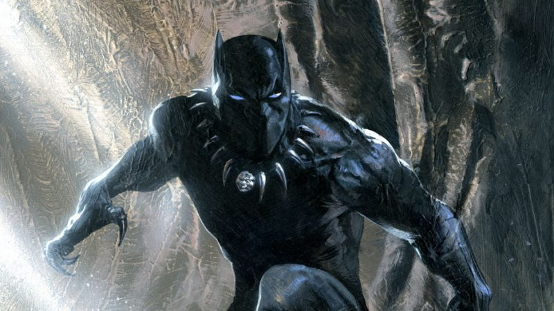 black panther di captain america
