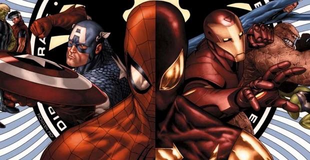 spider-man menjadil hubungan dengan salah satu karakter civil war