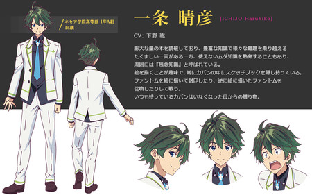 Haruhiko Ichijo Myriad Colors Phantom World