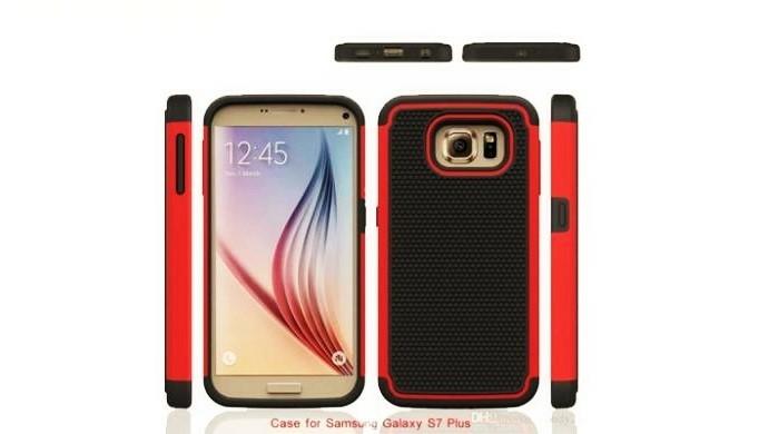 Samsung Galaxy S7 dengan pelindung DAFUNDA