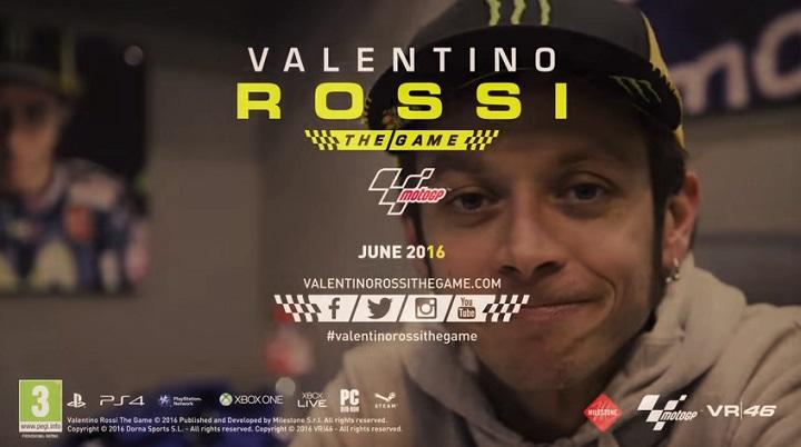 Valentino Rossi Akan Punya Game Resmi Tahun Depan