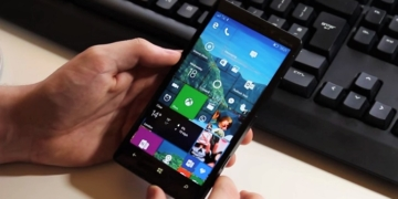Windows 10 Mobile on Smartphone test DAFUNDA