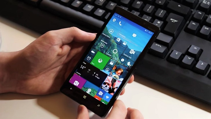 Windows 10 Mobile on Smartphone test DAFUNDA