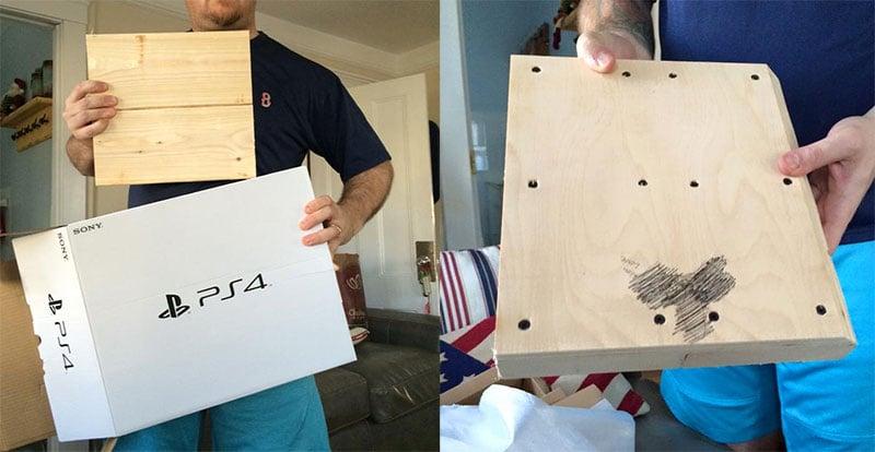 beli PS4 buat kado natal malah dapat Kayu