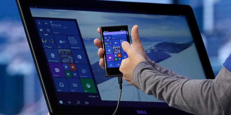 Pengguna Windows 10 Mobile Universal DAFUNDA