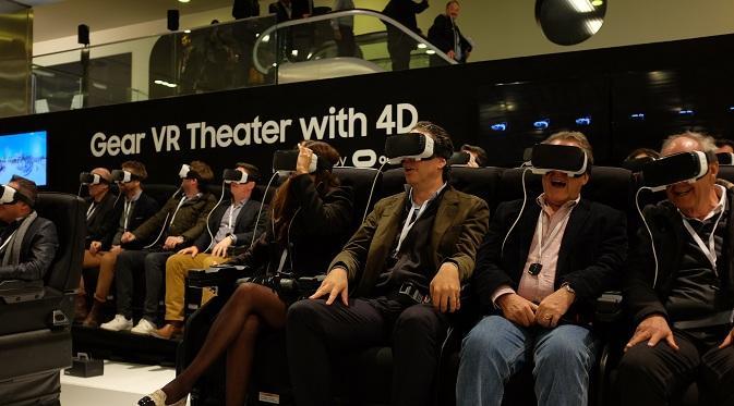 Sensasi nonton film 4D dengan Samsung Gear VR