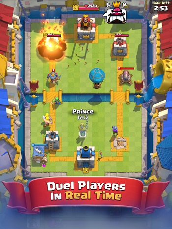 Clash Royal Preview on iOS