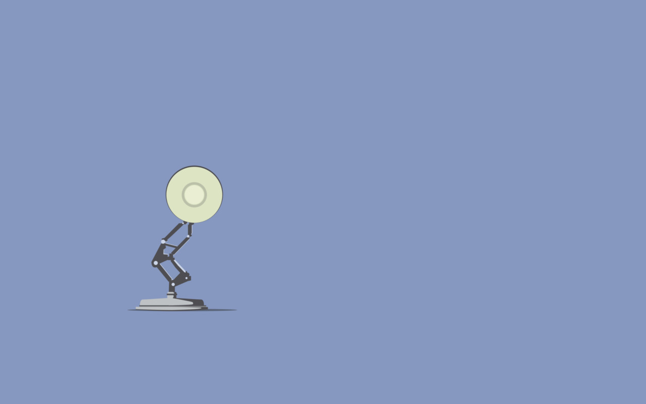 Flat Wallpaper Pixar