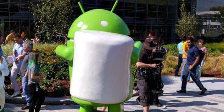 Patung Android Marshmallow di Kantor Google DAF
