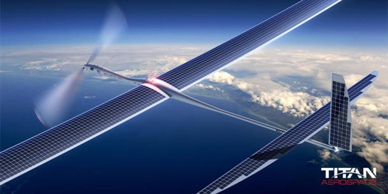 TITAN AeroSpace, Internet 5G Google Project Skybender