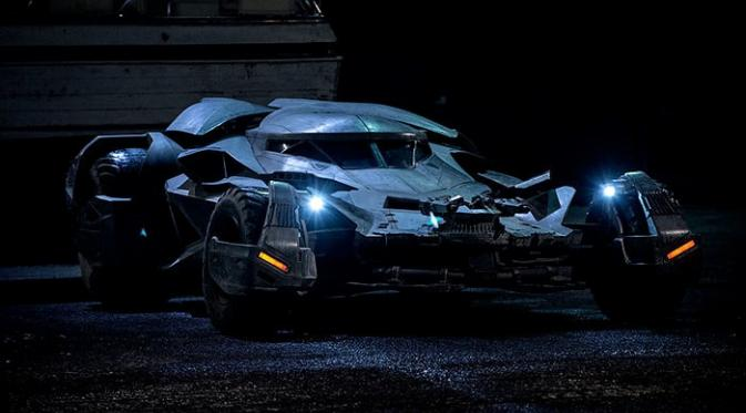 durasi dan batmobile di batman v superman