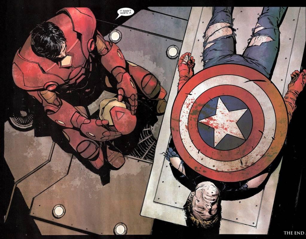 ending Captain america
