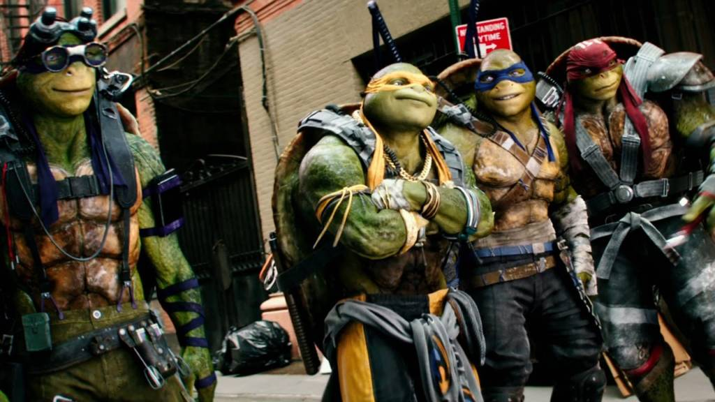 tmnt out of shadows new trailer and poster