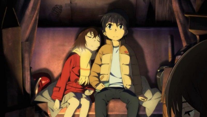 Anime Terbaik Winter 2016 - Boku dake ga Inai Machi