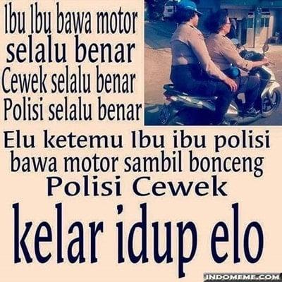 MEME ibu ibu Naik Motor (8)
