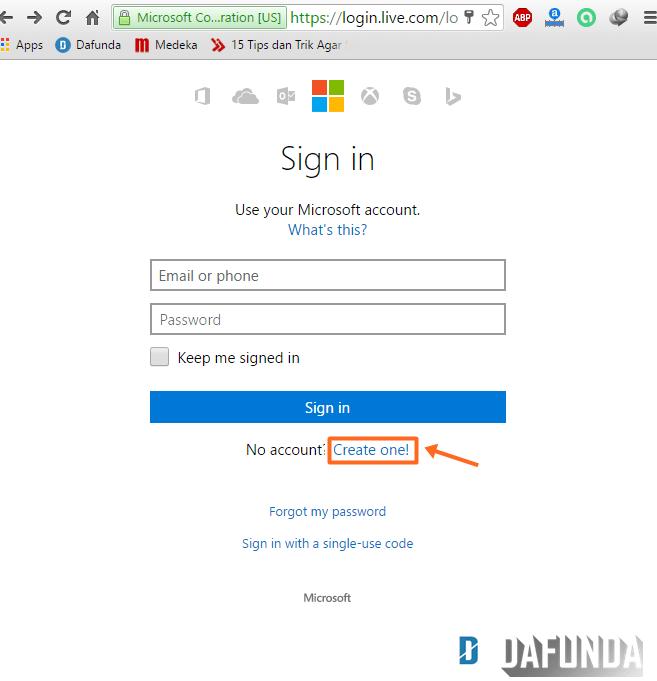 cara membuat email Hotmail baru- DAFUNDA (1)-min