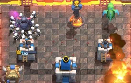tips supaya tetap menang battle clash royale - DAFUNDA