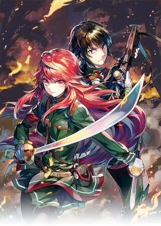 Anime Alderamin on the Sky visual