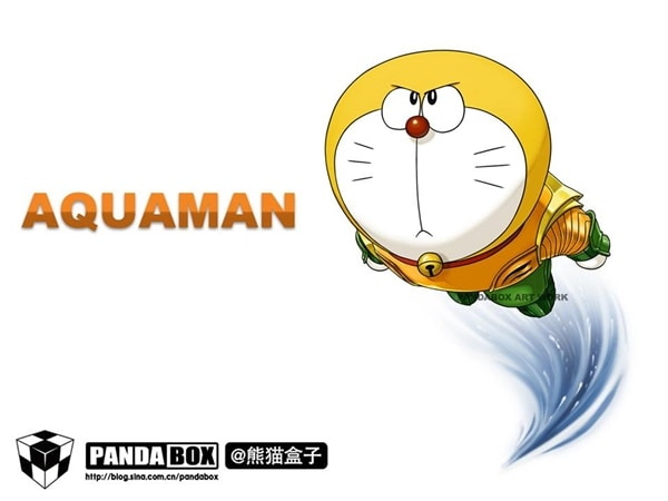 Aquaman Doraemon Superhero