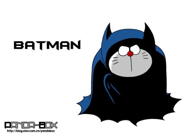 Batman v2 Doraemon Superhero