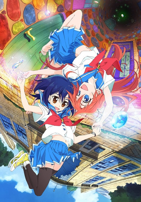 Flip Flappers Key Visual