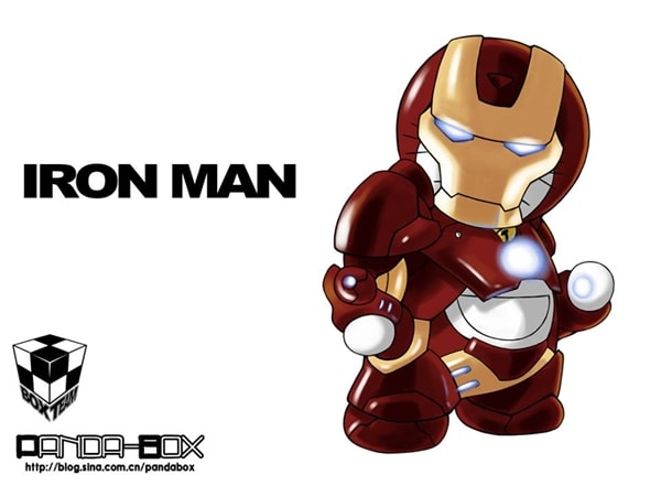 Iron Man v2 Doraemon Superhero