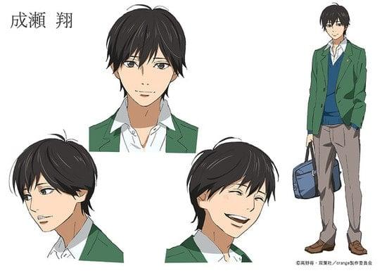 Kakeru Naruse Karakter Anime Orange (4)