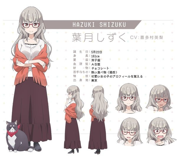 Karakter Anime New Game! (2)