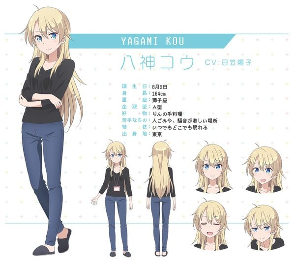 Karakter Anime New Game! (6)