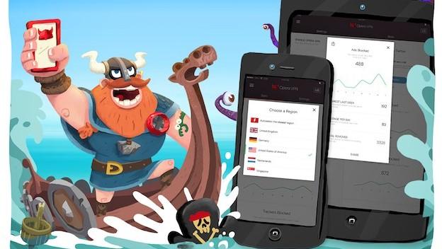 Opera VPN di iOS-DAF