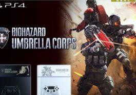 Playstation 4 umbrella Corps Resident Evil Theme