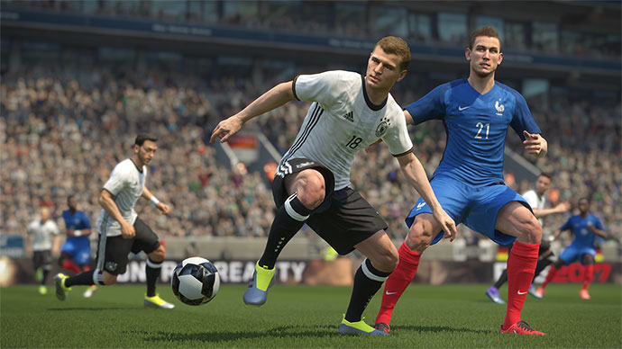Real Touch fitur PES 2017