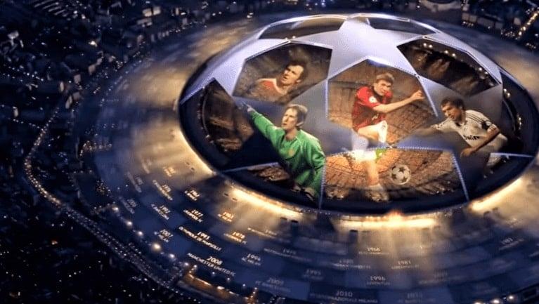 Siaran Langsung Liga Champion dan Liga Eropa YOUTUBE