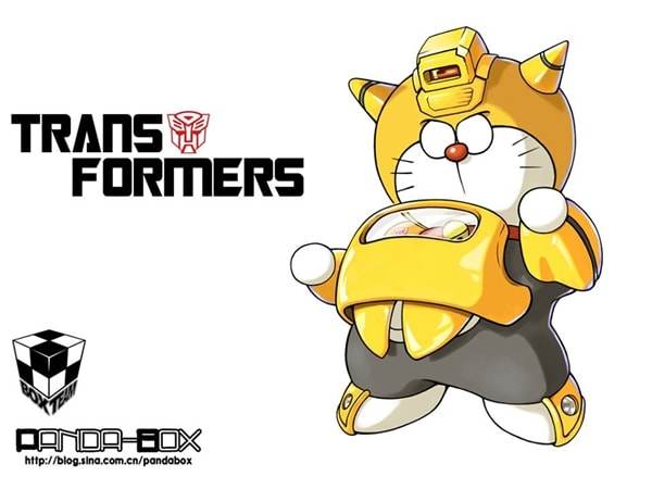 Transformers Doraemon Superhero