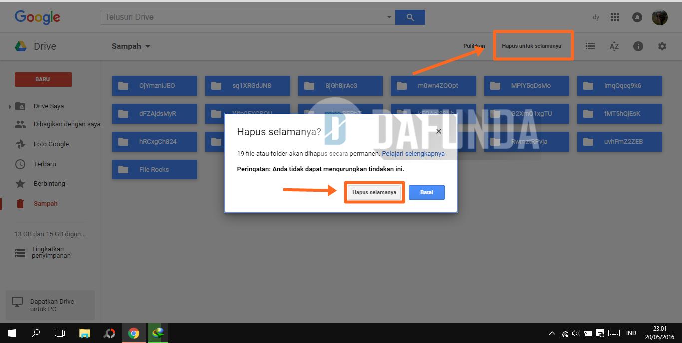 Google Drive Penuh (Full)