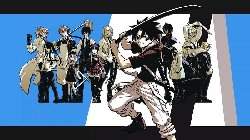 Anime UQ Holder
