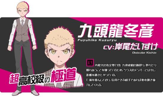 Daisuke Kishio Karakter danganronpa 3