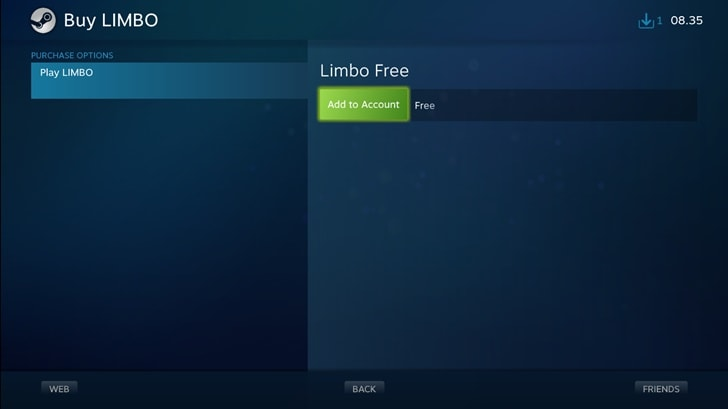 Download Limbo Gratis di Steam (2)