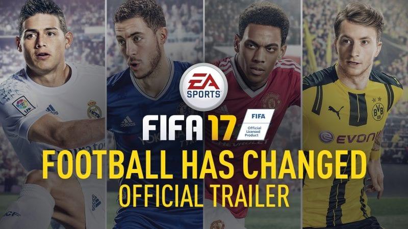 FIFA 17 PC XBOX PS rilis segera
