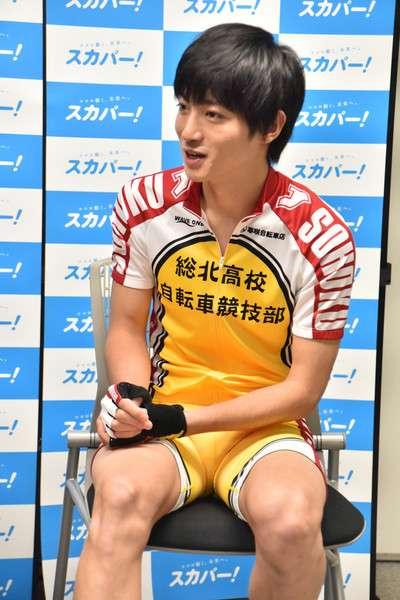 Shunsuke Imaizumi Yowamushi Pedal Live Action