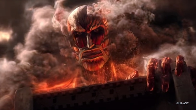 Trailer dan Gameplay Attack on Titan