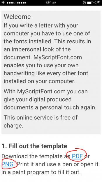 Membuat tulisan tangan di Android