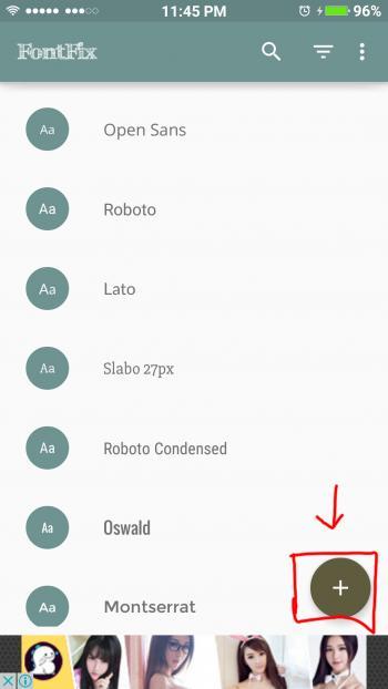 Membuat font sendiri di Android
