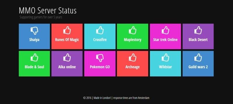 Check status Game