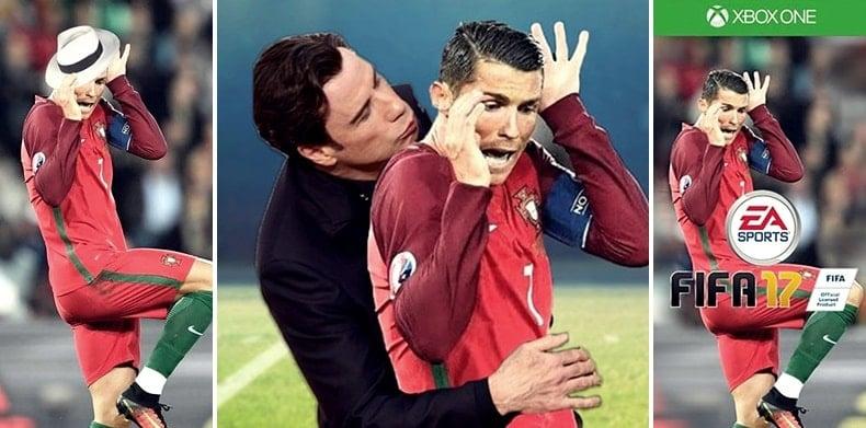 Foto Kocak Cristiano Ronaldo