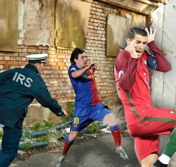 Foto Lucu Ronaldo versi EURO 2016 (4)