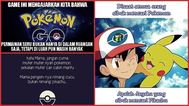 Meme Pokemon Go Dafunda Gokil