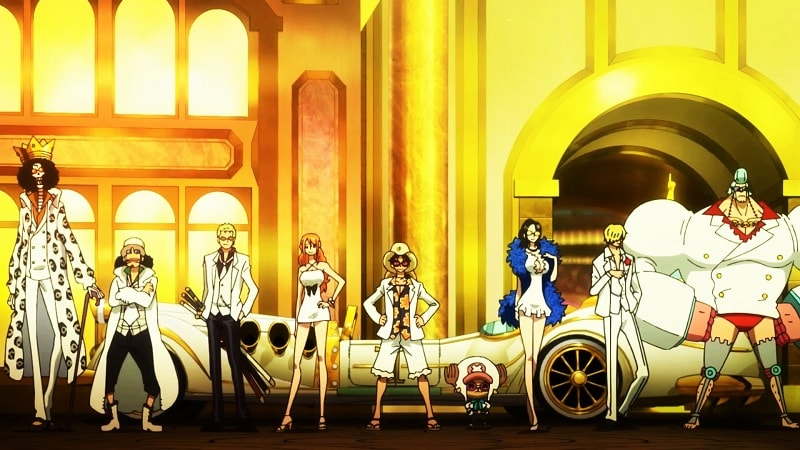 One Piece Gold di 33 Negara